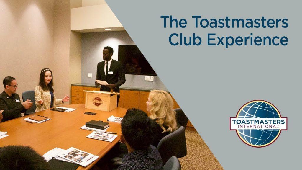 toastmastersClubExperience