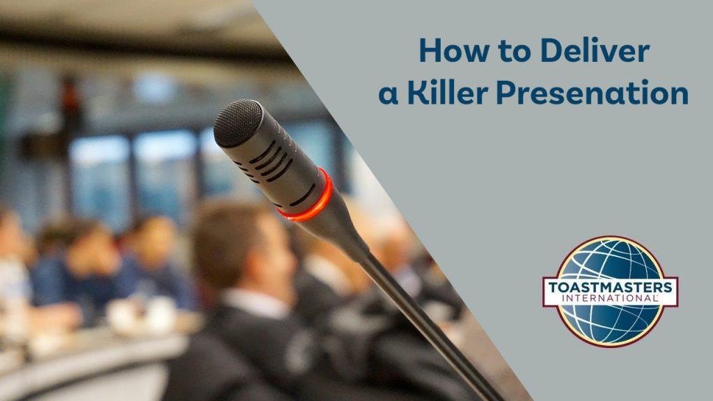 Speech Delivery for Killer Presenation